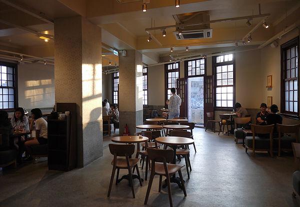 (圖片說明/萬華林宅內部,一、二樓現為星巴克咖啡的營業空間)
