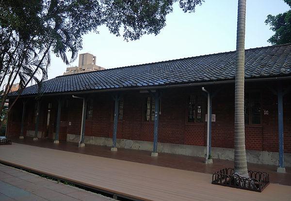 (圖片說明/現今位於和平青草園的仁濟療養院,被保留做為里民活動中心)
