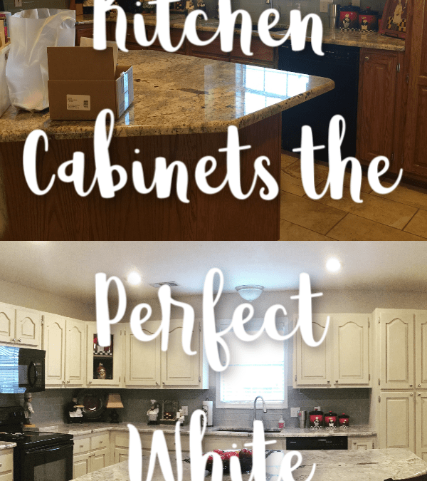 How To Paint Kitchen Cabinets White Let S Paint Furniture