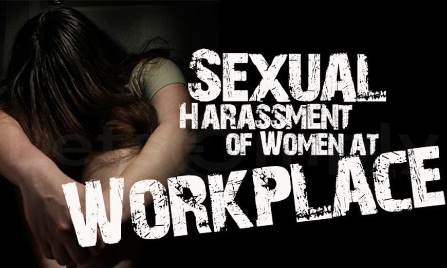 Law Against Sexual Harassment in Workplace: Largely Uncomplied?