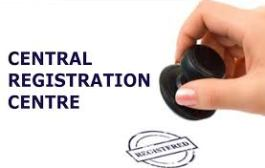 Central Government establishes a Central Registration Centre (CRC)