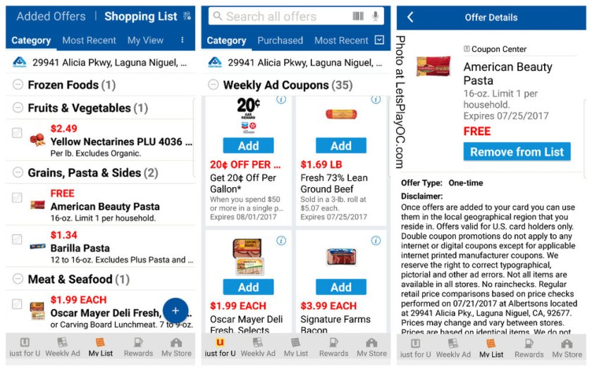 Discovery Cube Coupon >> Albertsons New Savings Tool Just For U Digital Offers