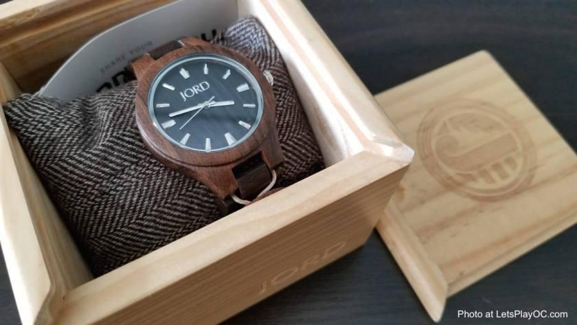 JORD Fieldcrest Dark Sandal Watch