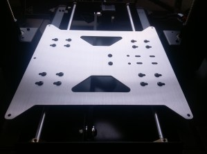 Aluminum Y-Carriage Plate