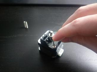 Extruder Lever Cover Screw