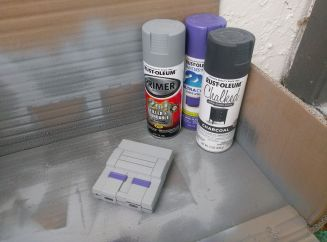 SNES Classic Case Painted