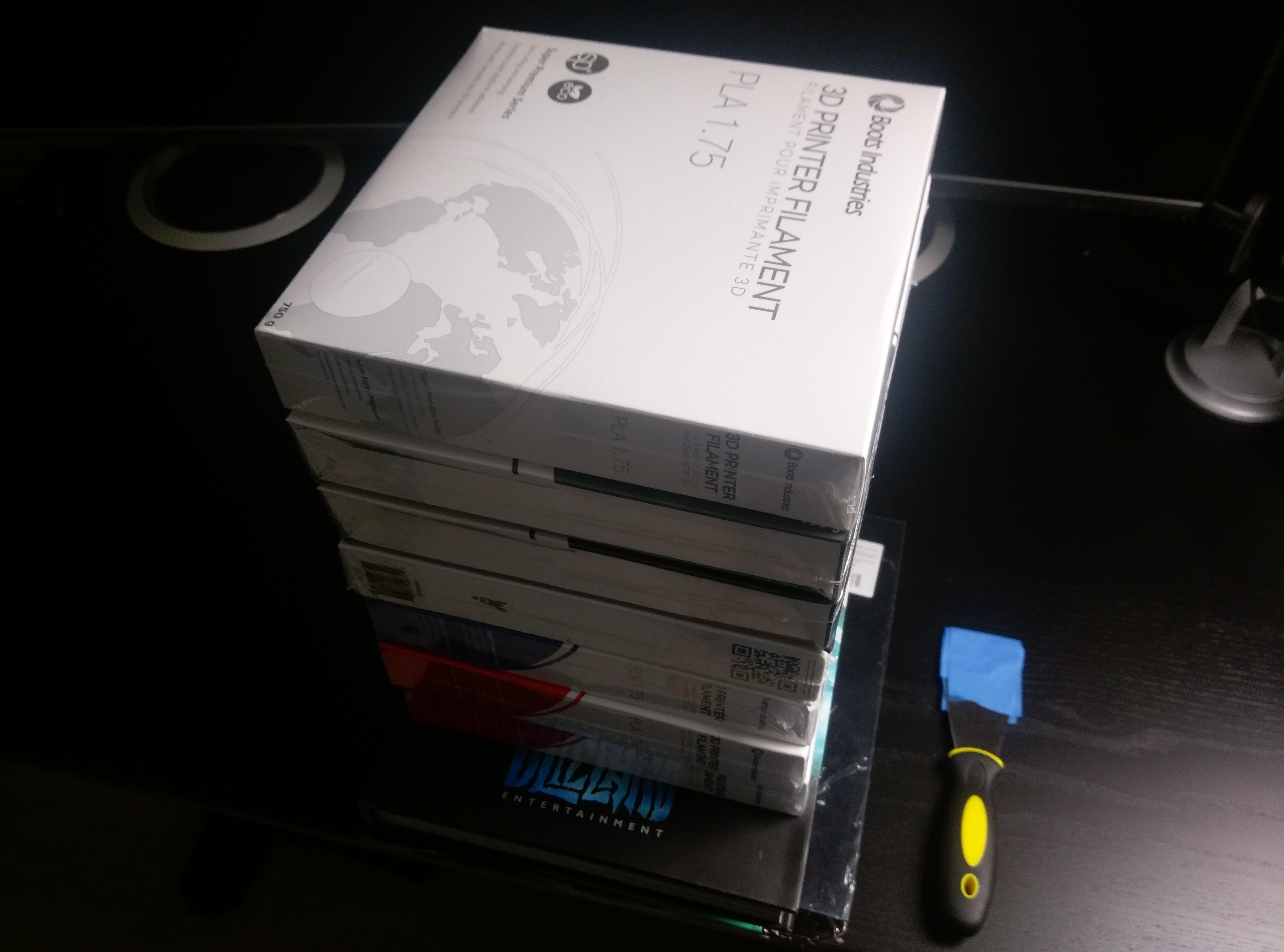 Compression Book Stack