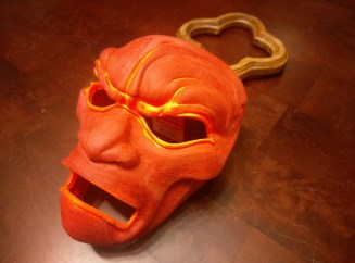 3D Printed Mask Bondo Filler