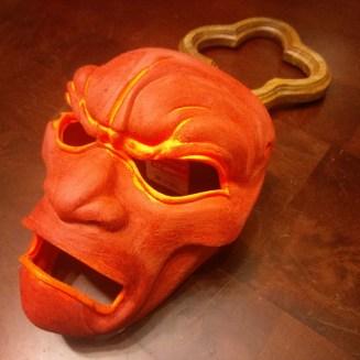 3D Printed Mask Bondo Filler