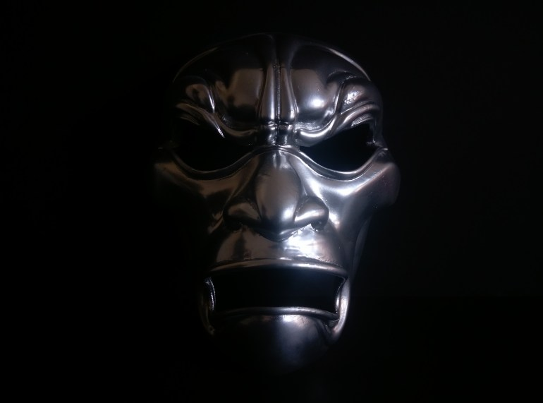 3D Printed Mask Finished