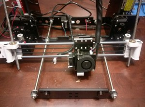 Anet A8 Extruder Assembly