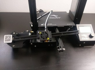 Creality Ender-3 Assembly - Extruder Front