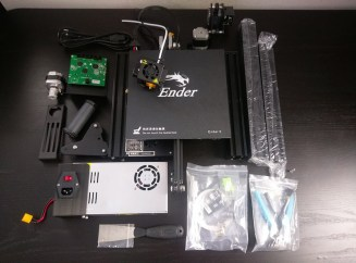 Creality Ender-3 Assembly - Parts