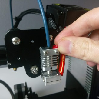 Ender 3 Micro Swiss All Metal Hotend Bowden Tube