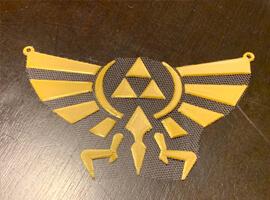 Fabric Zelda Hyrule Crest