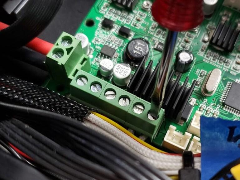 Creality Ender-3 Control Board Terminal Blocks