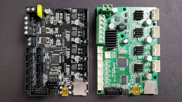 SKR Mini E3 vs Creality Board Comparison