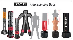 century stand up punching bag review