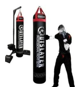 Outslayer 130 lbs hanging bag for Muay Thai and MMA