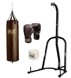 Everlast 100 pound punching bag for martial arts