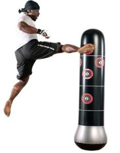 5.25 feet inflatable punching bag for both adults and kids