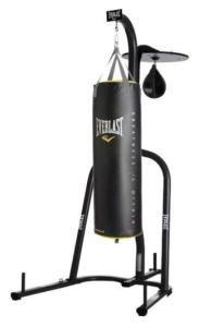 best Everlast heavy bag and stand for kickboxing