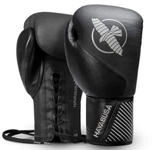 Hayabsua leather thai gloves