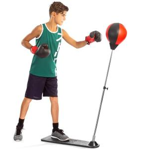 kids punching bag with stand review