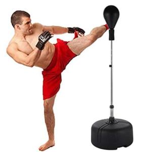 Tomasar Free Standing Punching Bag Speed Ball with Adjustable Height