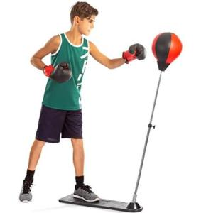 Tech Tools standing reflex punching bag for children