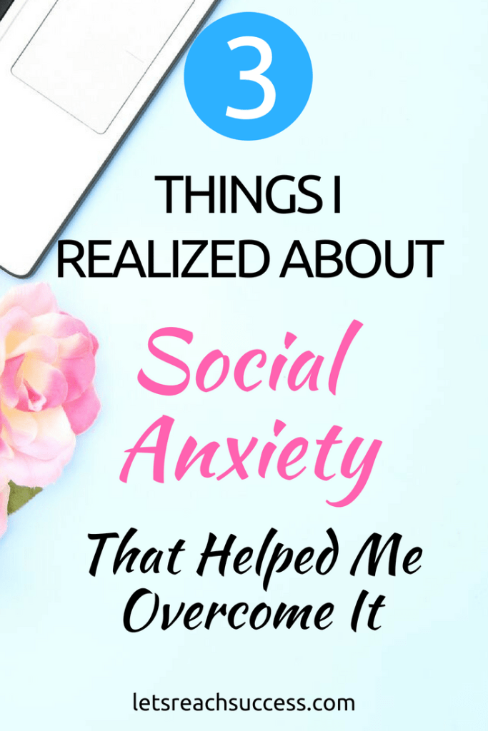 Social anxiety is something we all have to deal with. But if we don't do something about it, we can't live life to the fullest. Here are some practical ways to overcome feeling anxious all the time and build a stronger mindset: #socialanxiety #anxietytips