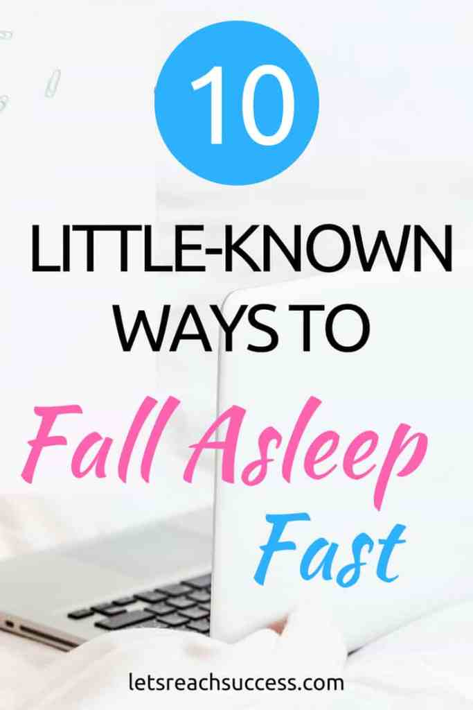 If you have trouble getting to sleep, you've probably been looking for ways to fall asleep fast your whole life. Some may have worked out, while others didn't help. If you still can't get a good sleep at night, here are some tricks to fix that and start falling asleep quickly: