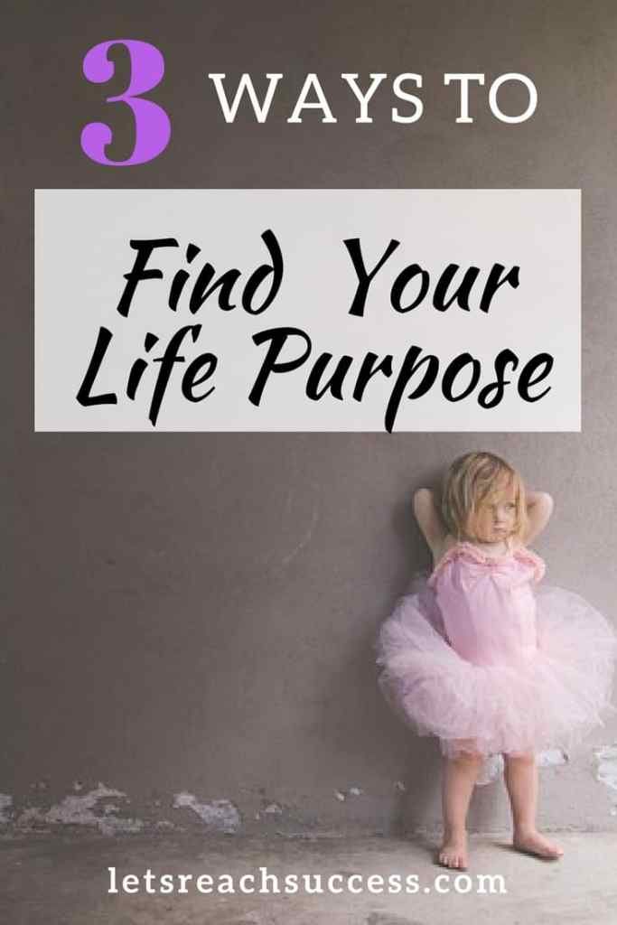 To live your destiny you need to do meaningful things and have a purpose in life. Here are 3 simple ways to find it today and start living a more fulfilling life aligned with the universe and your true self: #purpose #lifegoals #success
