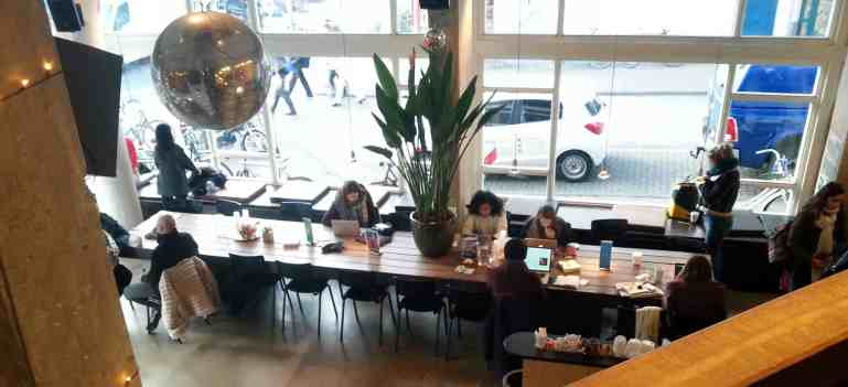 Amsterdam Coffice #1: Coffecompany at Waterlooplein - letsreachsuccess.com