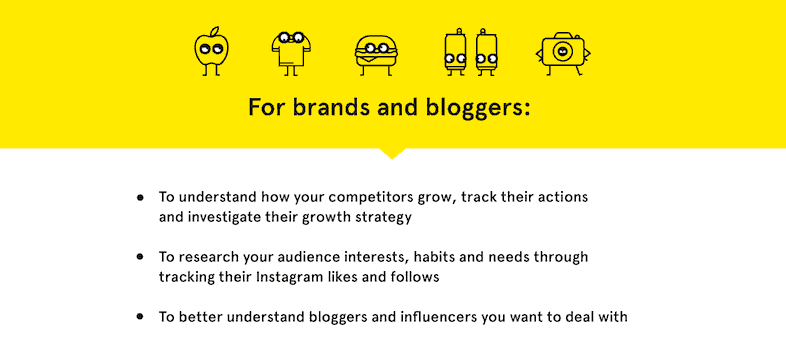 1. Snoopreport for brands, bloggers, and marketers.