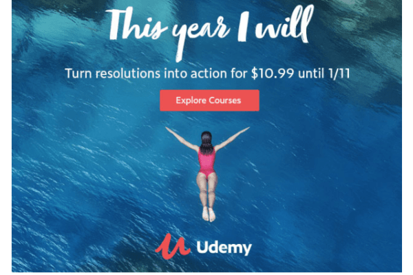 New Year = New Skills on Udemy.com