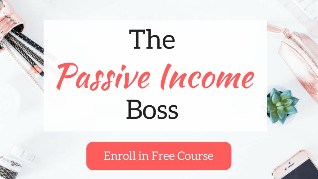 passive income boss course
