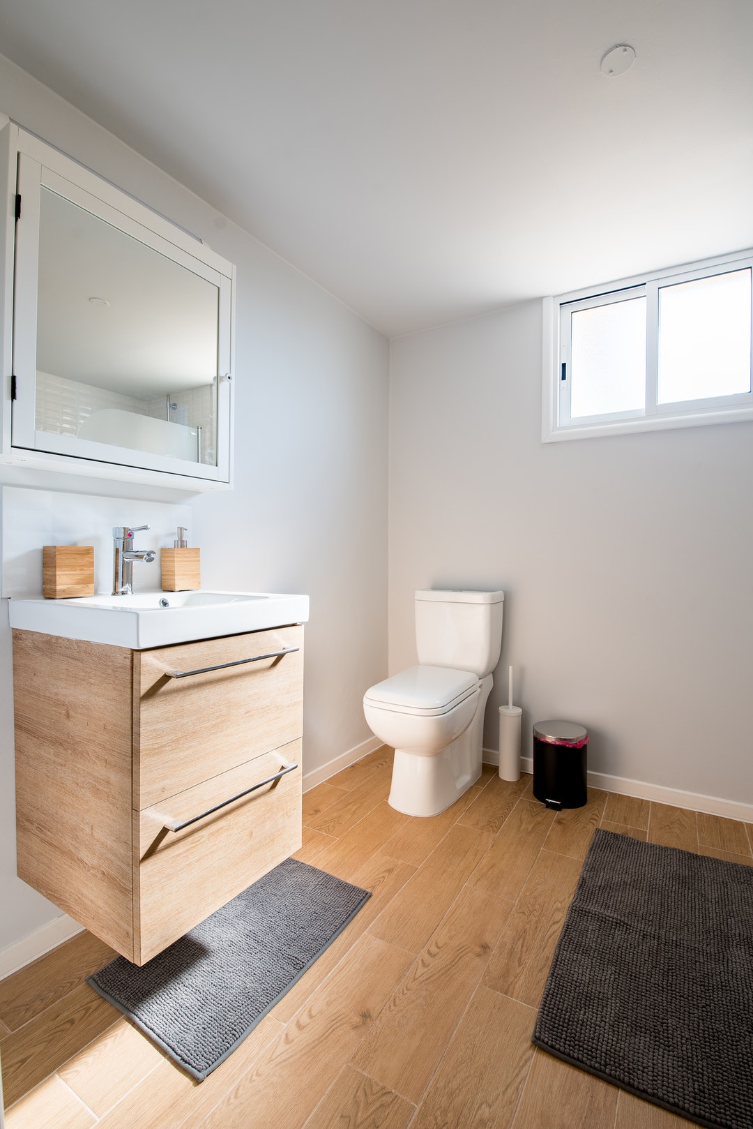 Small Bathroom Flooring Ideas: Your Best Options - Let's ... on Small Bathroom Ideas Pictures  id=73165