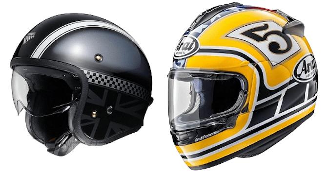 L'histoire du casque moto