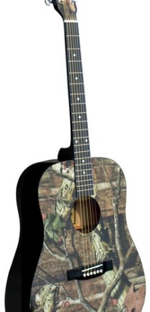 Mossy Oak® Infinity Camo Acoustic Guitar MO-1
