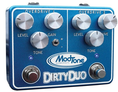 Modtone Dirty Duo Effect Pedal (Overdrive) MT-DUO