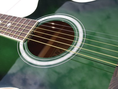 Indiana® Madison Standard Series Acoustic Guitar, Green MAD-GR