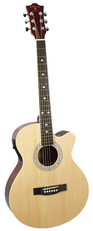 Indiana® Madison Standard Series Acoustic Guitar, Natural MAD-NT