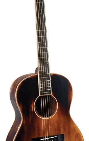 Morgan Monroe® Time Worn Acoustic Guitar with Soft Case & Humidifier