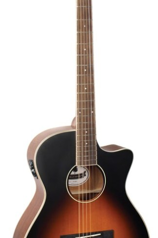 Morgan Monroe® Music Row OM Electric/Acoustic Guitar