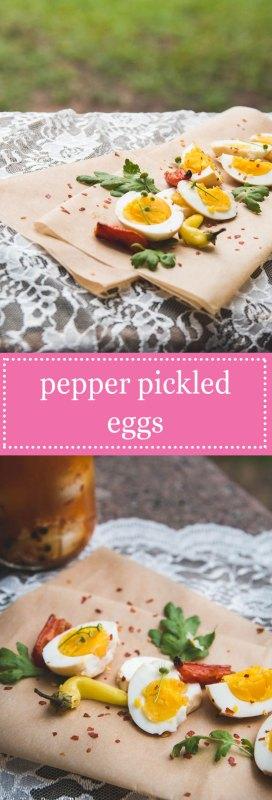 Pepper Pickled Eggs