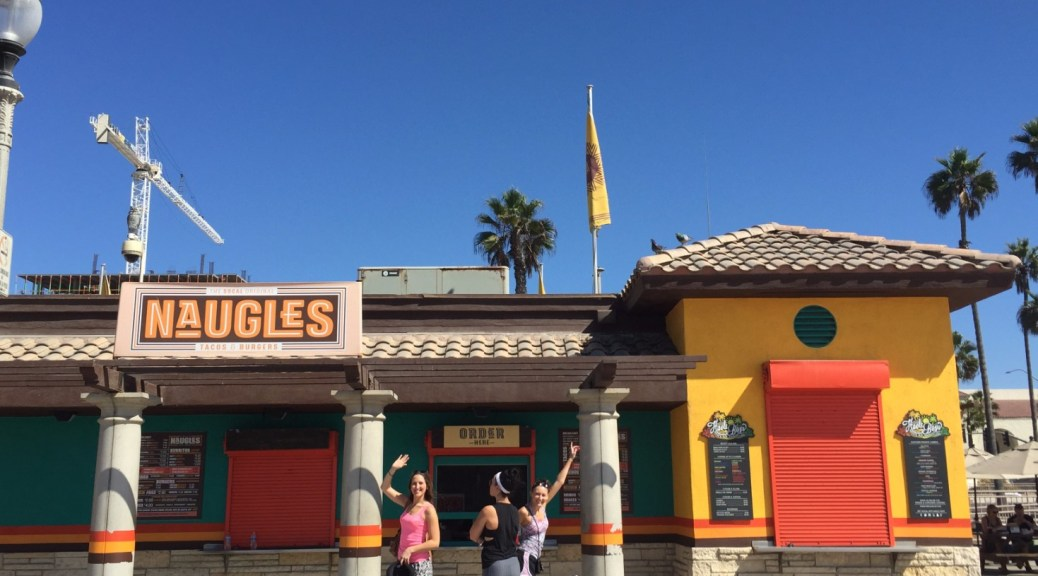 Exterior of Naugles Tacos