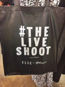 #TheLiveShoot Event with ELLE + GHD