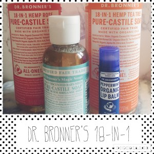 Dr. Bronner's 18-1 review