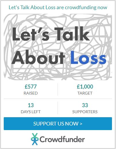 £577 raised for Let's Talk About Loss